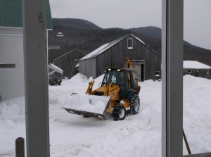 Plowing - windy Hill style